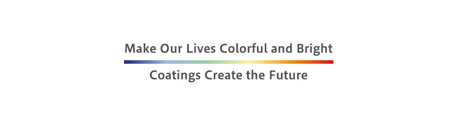 Make Our Lives Colorful and Bright Coatings Create the Future